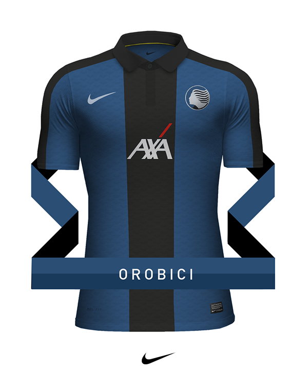 Club jersey design - Nike on Behance Camisas De Futebol 99ea9843fd780