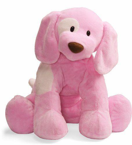 Gund Baby Spunky Plush Puppy Toy X Large Pink By Gund Baby