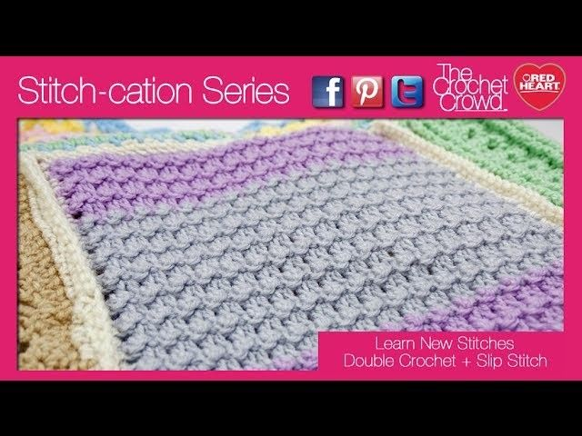 How To Crochet Double Crochet With Slip Stitches Double Crochet