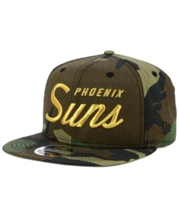 new arrival 04fd4 87c57 New Era Phoenix Suns Classic Script 9FIFTY Snapback Cap - Green Adjustable