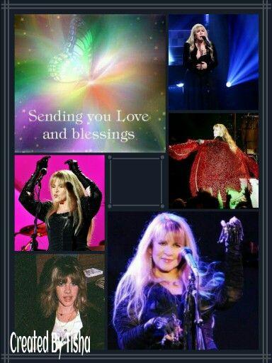 Stevie Nicks Collage Created By Tisha 10/30/15