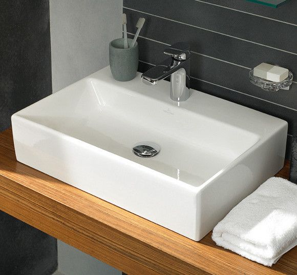 Villeroy & Boch Memento countertop basin 60 x 42cm 51356001 ...