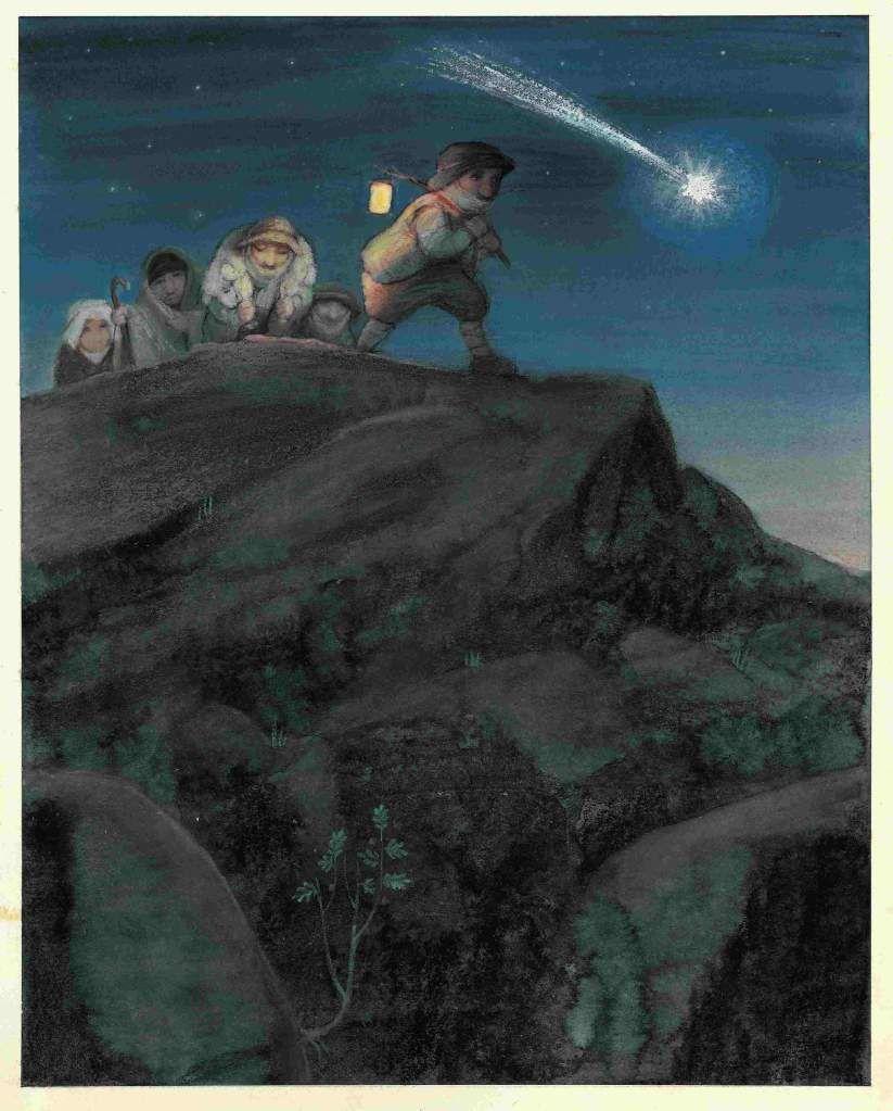 Sie folgten einem hellen Stern. Ilustrador: Ulises WensellRavensburg: Maier. 1993