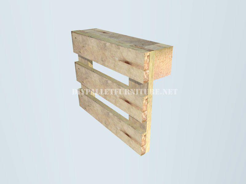 Comment faire un banc avec palettes étape par étape