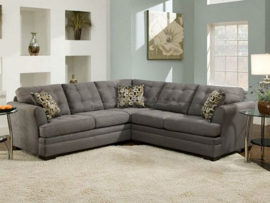 Velocity Slate Sectional By Simmons 2057 Seaboard Bedding And