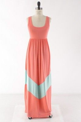 Pink/Mint Maxi | The Jean Girl Shop