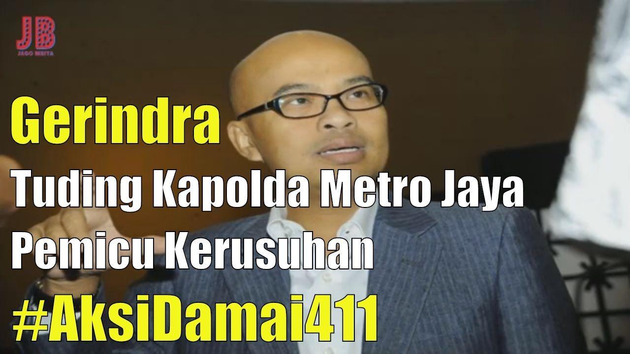 PilkadaDKI AntiAhok TemanAhok Gerindra Tuding Kapolda Metro Jaya