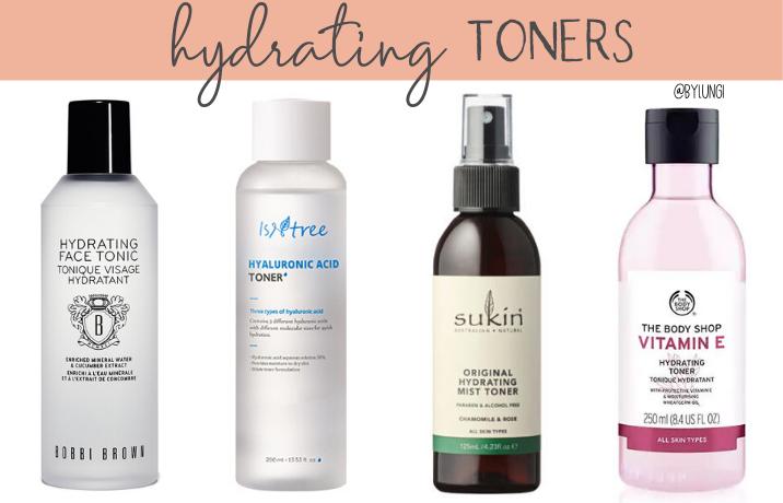 Hydrating Toners In 2020 Hydrating Toner Toners Morning Skincare
