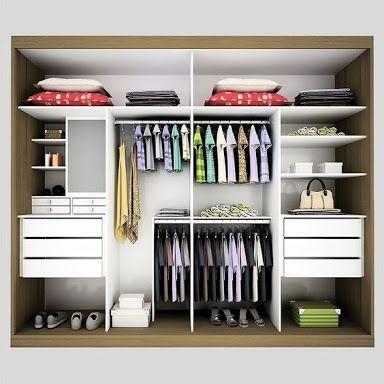 Картинки по запросу parte interna de guarda roupa