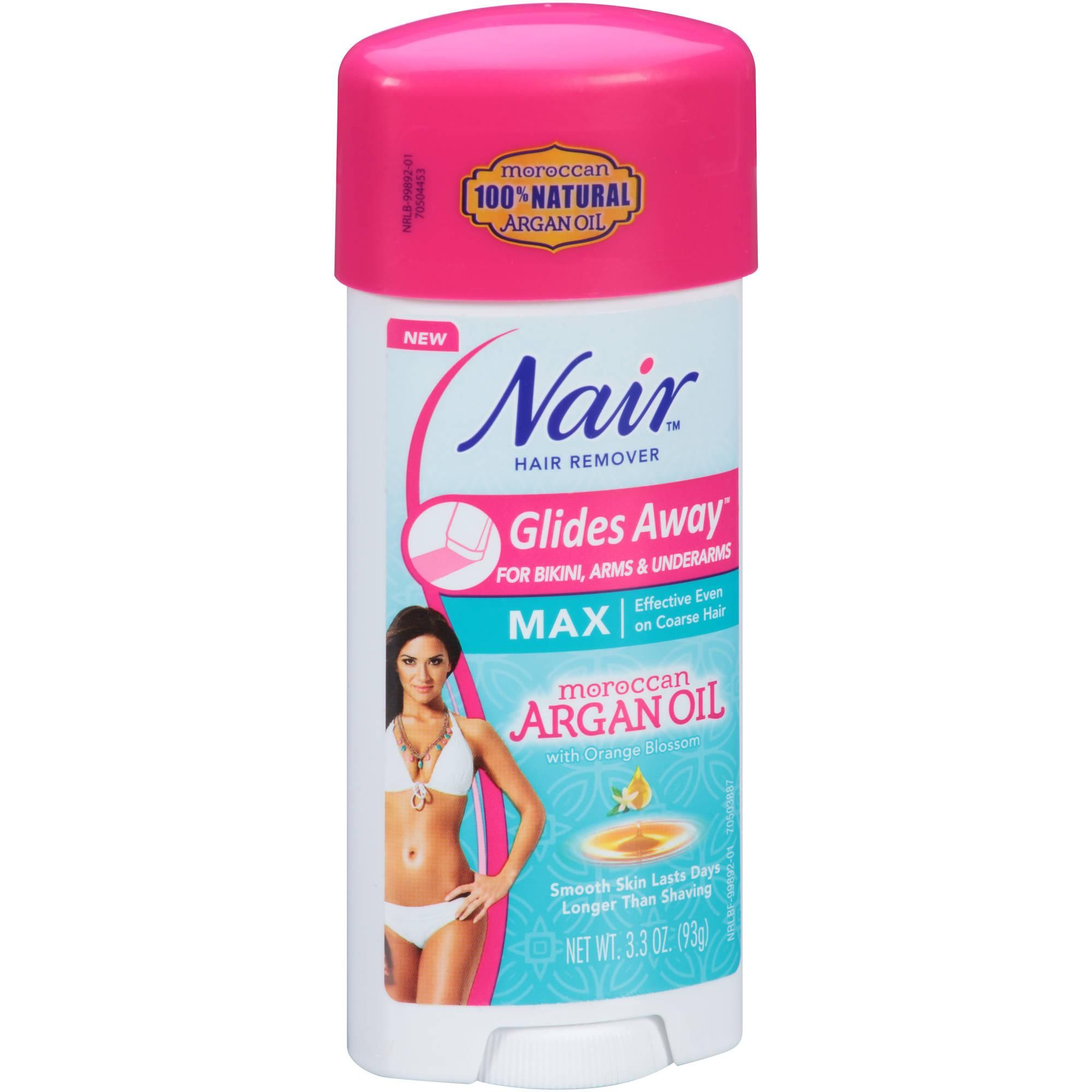 Nair Glides Away Hair Remover for Bikini, Arms & Underarms, 3.3 oz -  Walmart.com