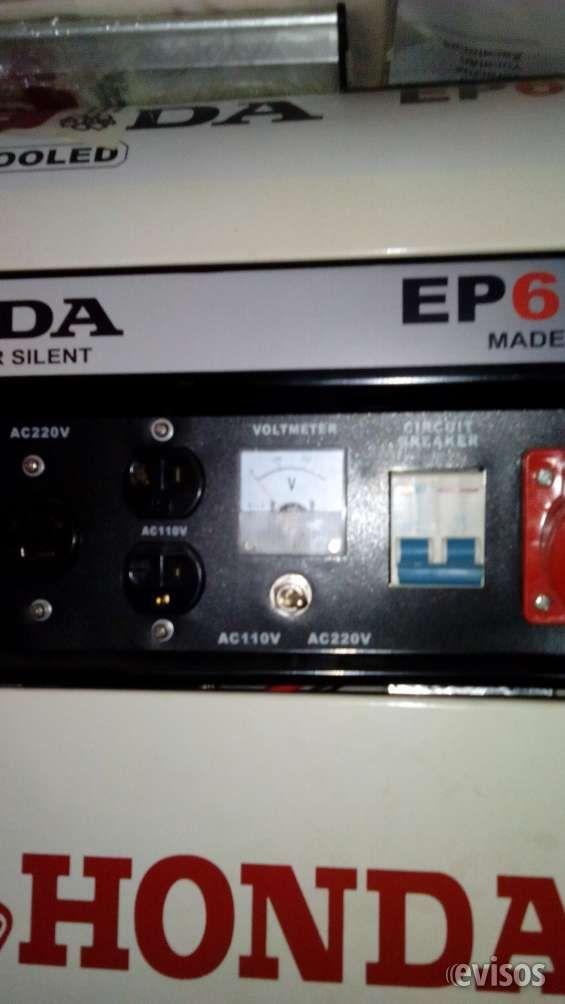 Generador HONDA 6500 whats  Generador HONDA 13 H.P. 6500 wats.120/220 Volts. AC/DC arranke electrico y manual Nuevo sin ...  http://azcapotzalco.evisos.com.mx/generador-honda-6500-whats-id-601708