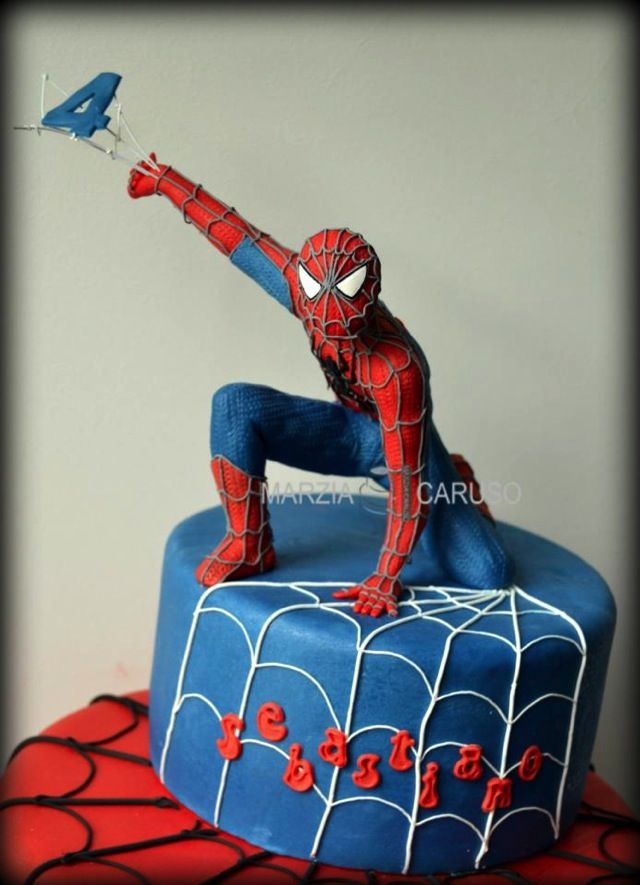 Marvelous Spider-Man Cake Spiderman, Cakes and Pastel