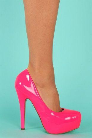 big selection most desirable fashion hot-seeling original Malibu Pumps - Hot Pink | [Shoe] Styles | Heels, Barbie ...