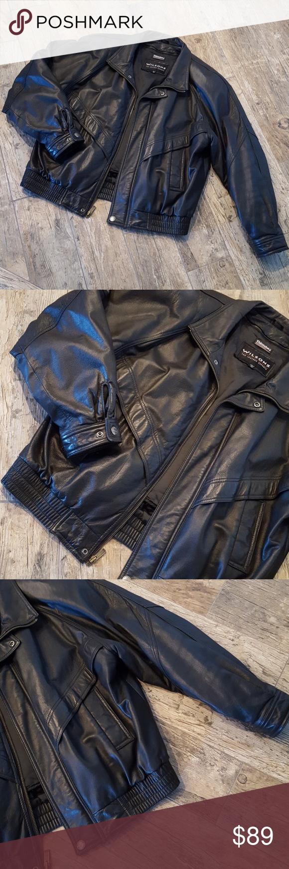 Wilsons Leather jacket szXL Wilsons leather jacket