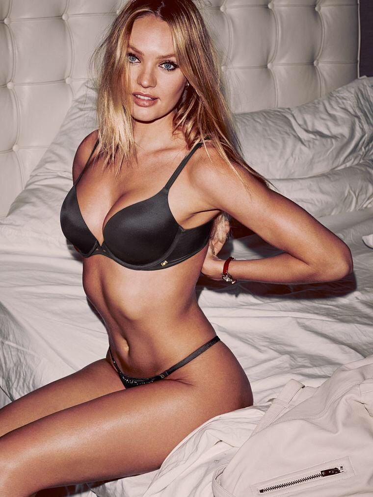 9e731ed5d03 Candice Swanepoel for Victoria s Secret Lingerie October 2015 ...