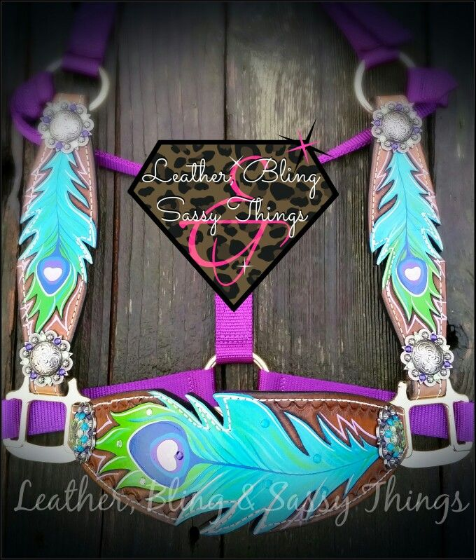 Find Me On Fb For Hand Painted Horse Tack Muletape Noseband