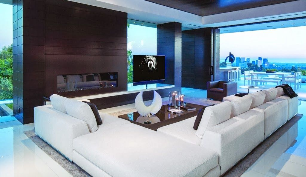 36 Million Dollar Beverly Hills Modern See This House Cococozy Mansion Living Room Mansion Living Modern Family Room Design