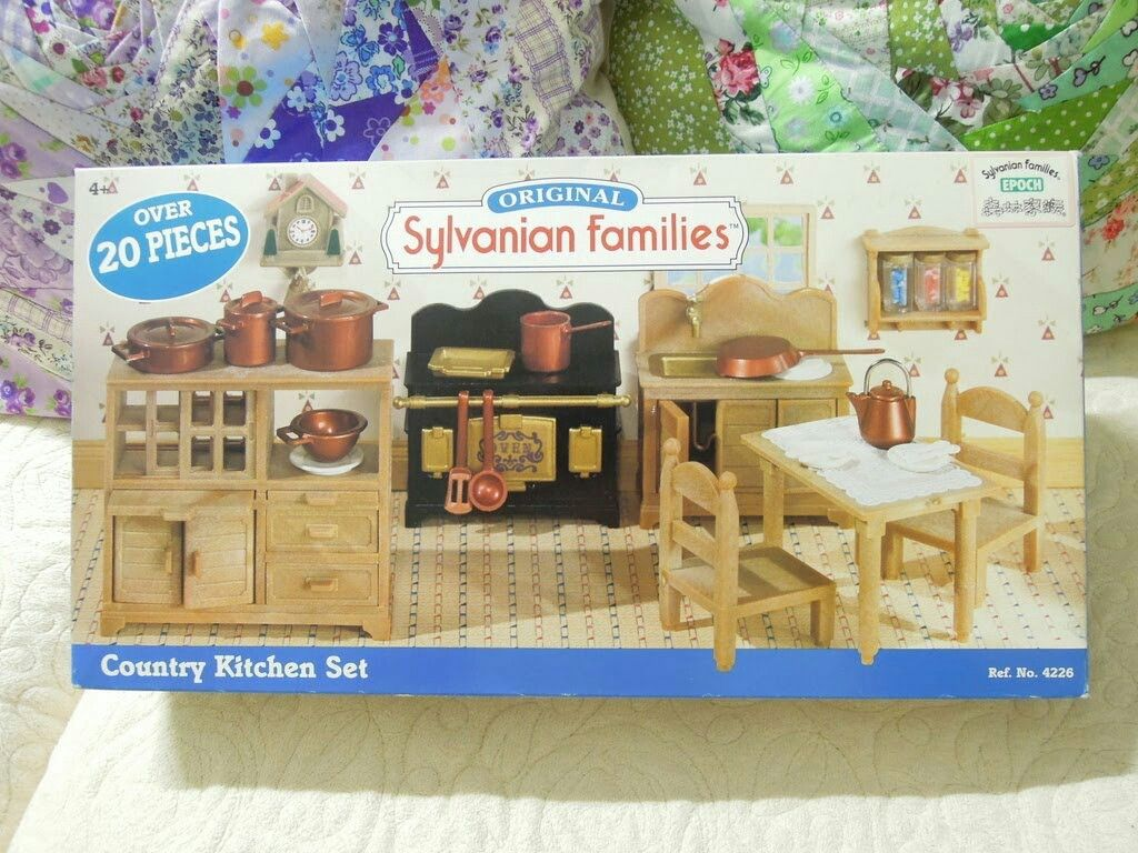 Sylvanian Families Country Kitchen Set Sylvanian Families