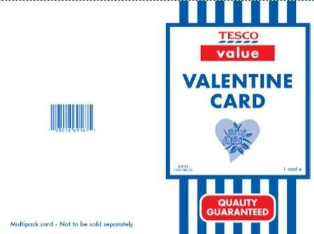 Pin by georgia marshall on ye valentines day pinterest tesco value valentine card bookmarktalkfo Images