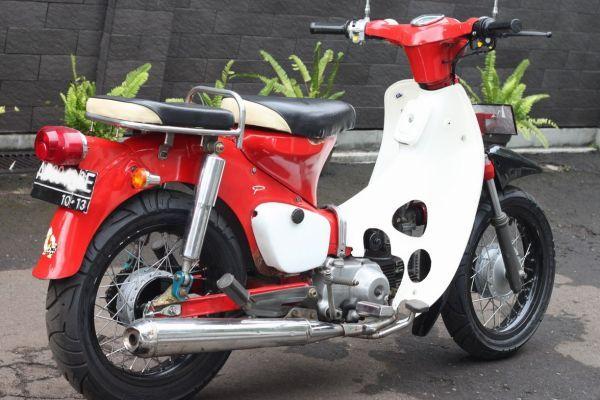 modifikasi motor honda 70an terbaru