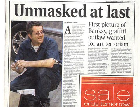 banksy unmasked banksy and
