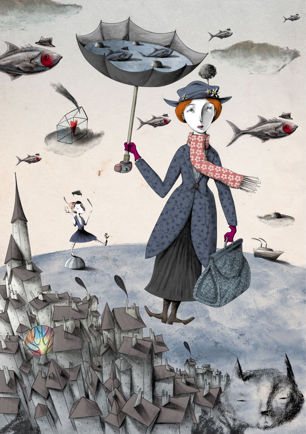 Mary Poppins~ Artist Marco Gallo