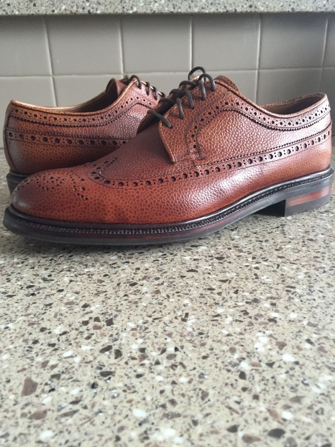 Meermin Longing Bluchers Chestnut Country Calf Size 9 $190 ...