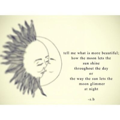 love sun moon quotes | via Tumblr | Moon quotes, Sun quotes ...