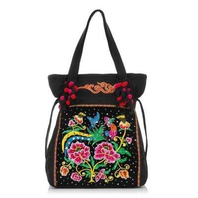 Damska Torebka Na Ramie Boho Flower And Bird 5628568771 Oficjalne Archiwum Allegro Shoulder Bag Bags Diaper Bag