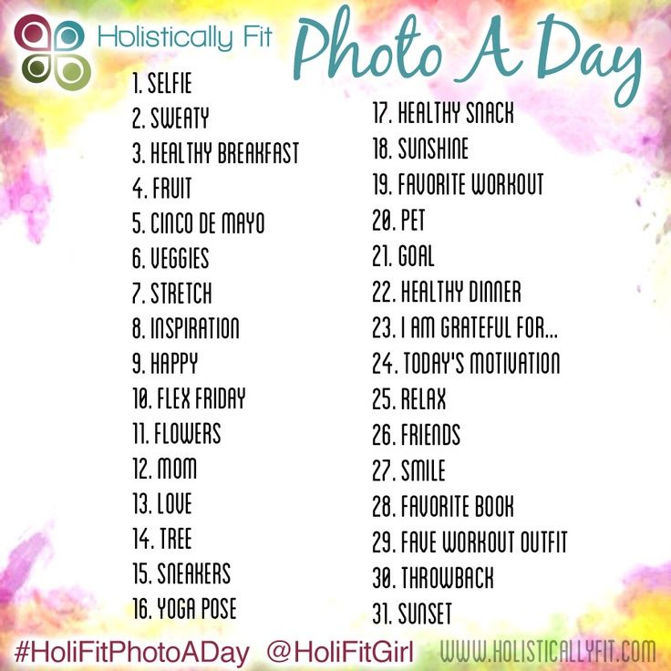 may photo a day challenge | May Photo A Day Challenge to WIN a 25 dollar gift card to Lululemon!!