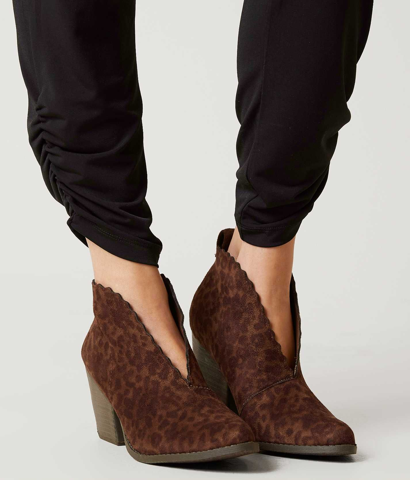 Coconuts By Matisse Addie Ankle Boot - Women's Shoes in Brown Leo