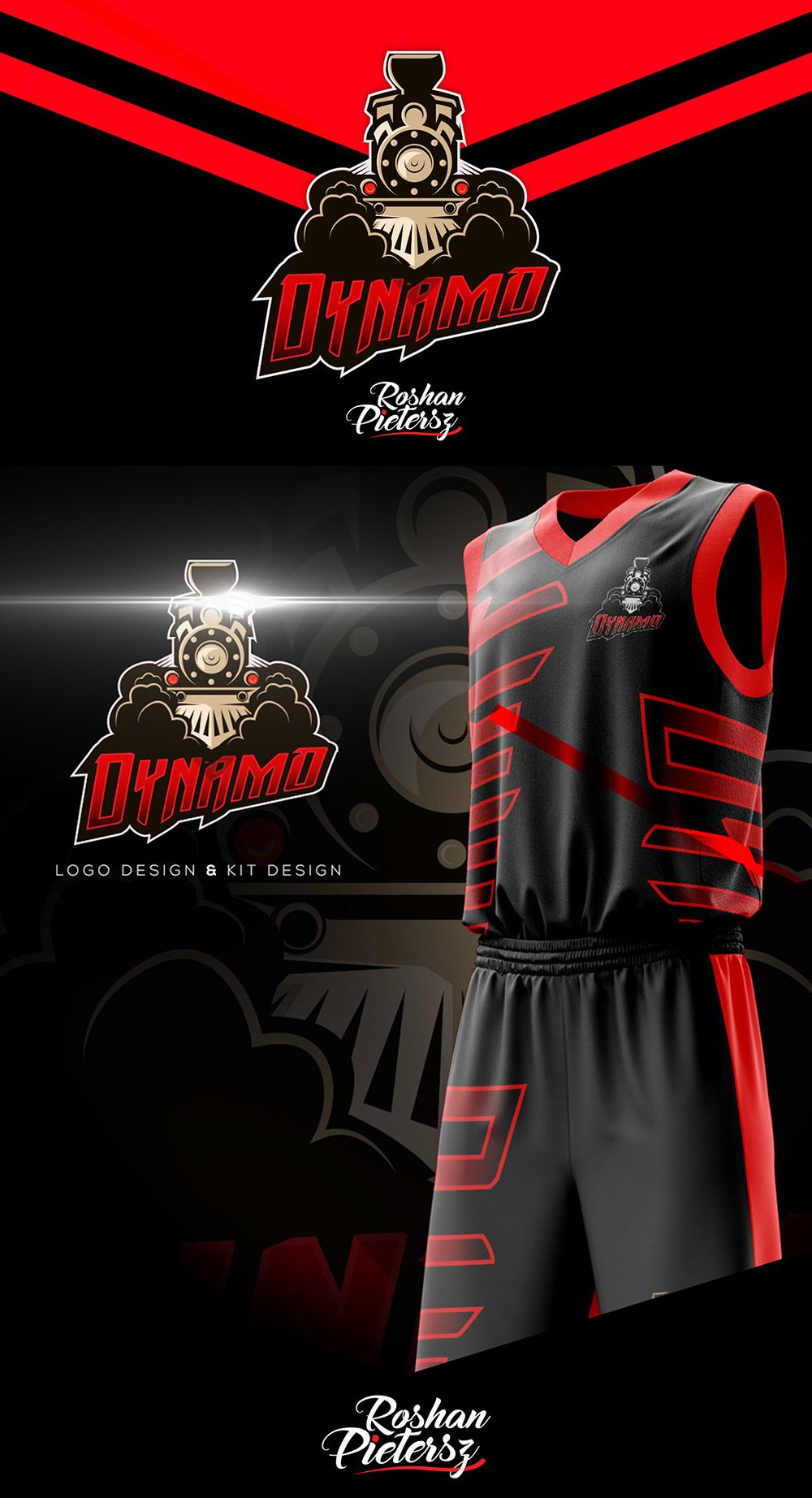 64480b847 30+ Awesome Basketball Team Logo and Identity Designs