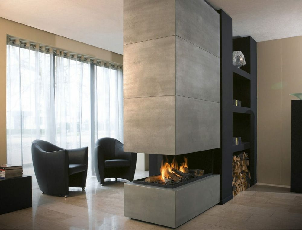 Wohnzimmer Mit Kamin Modern | HOME | Pinterest | Fire places, Living ...