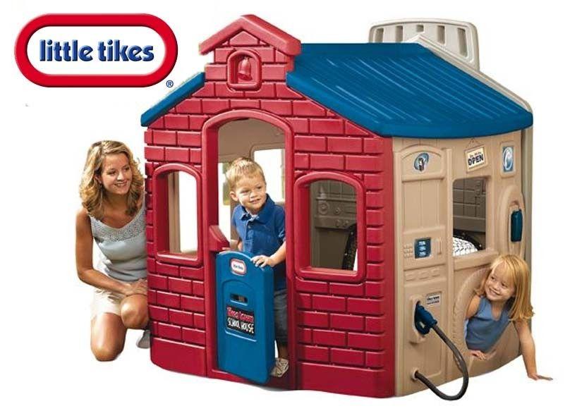 Zabawki Na Upalne Dni Domek Ogrodowy Dla Dzieci Little Domek
