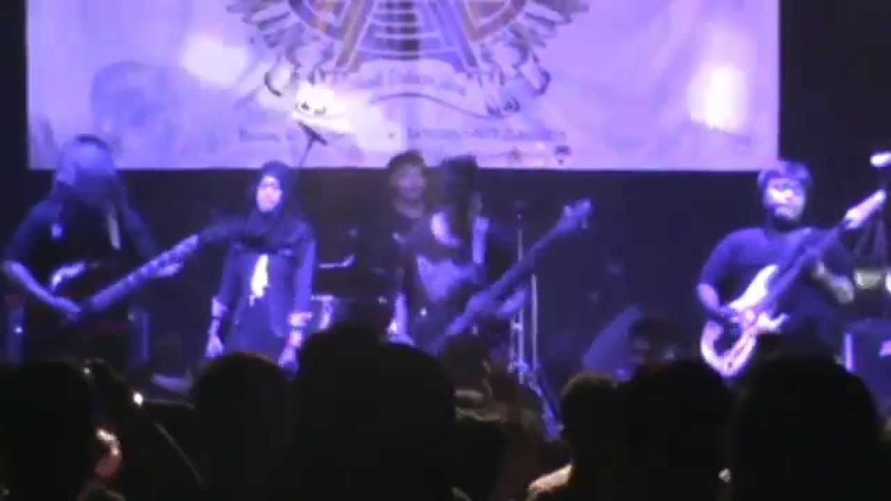 Metal Vocal Girl Gadis Berkerudung Menjadi Vocal Metal Part 2