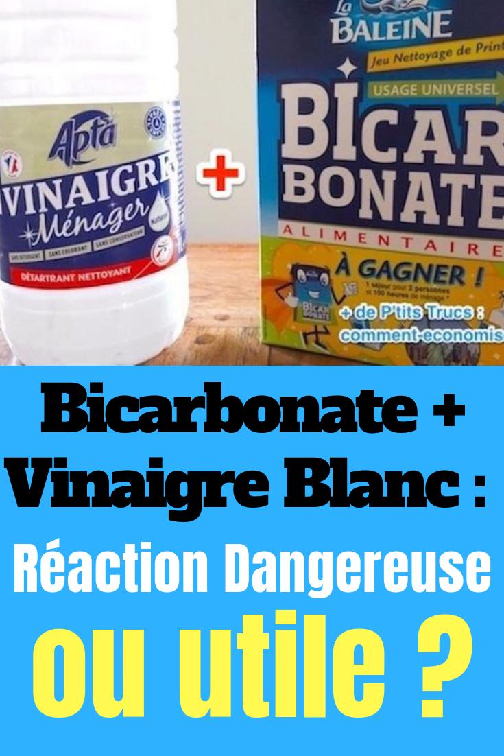 Bicarbonate Vinaigre Blanc Reaction Dangereuse Ou Melange Utile Vinaigre Blanc Bicarbonate Vinaigre