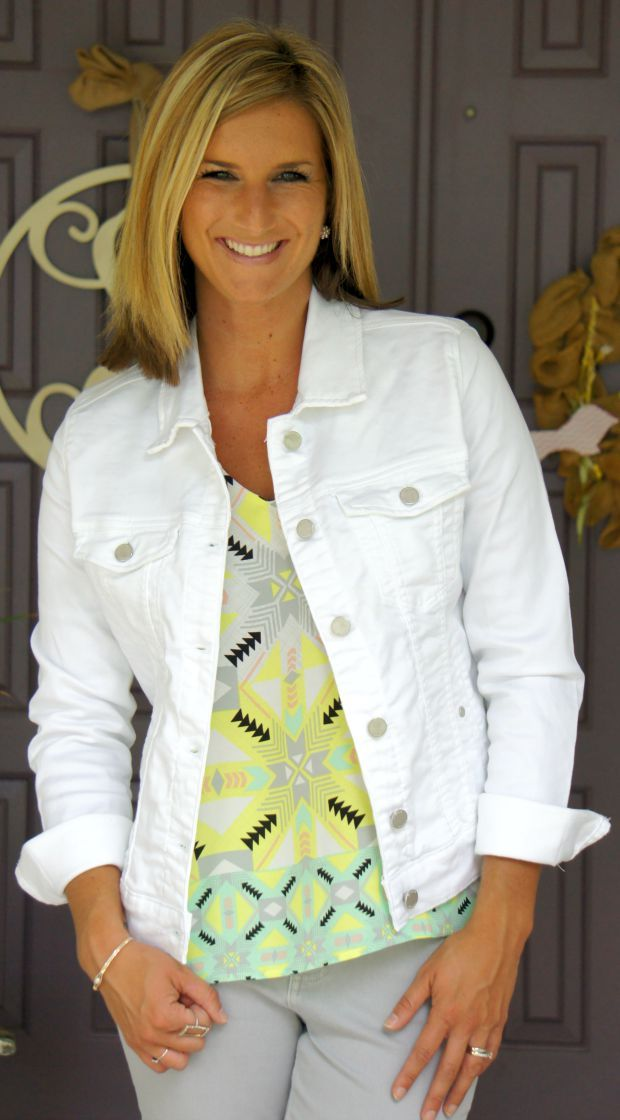 Stitch Fix Reveal - #37 | White denim, Denim jackets and Stitch