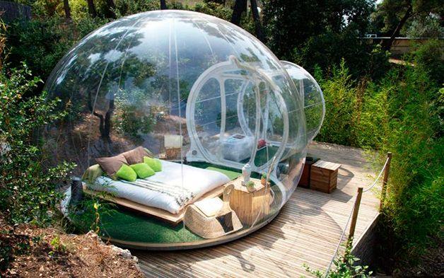Rede De Hoteis Substitui Quartos Tradicionais Por Bolhas Na Natureza Amazing Hotels Rooms Bubble Tent Hotels In France