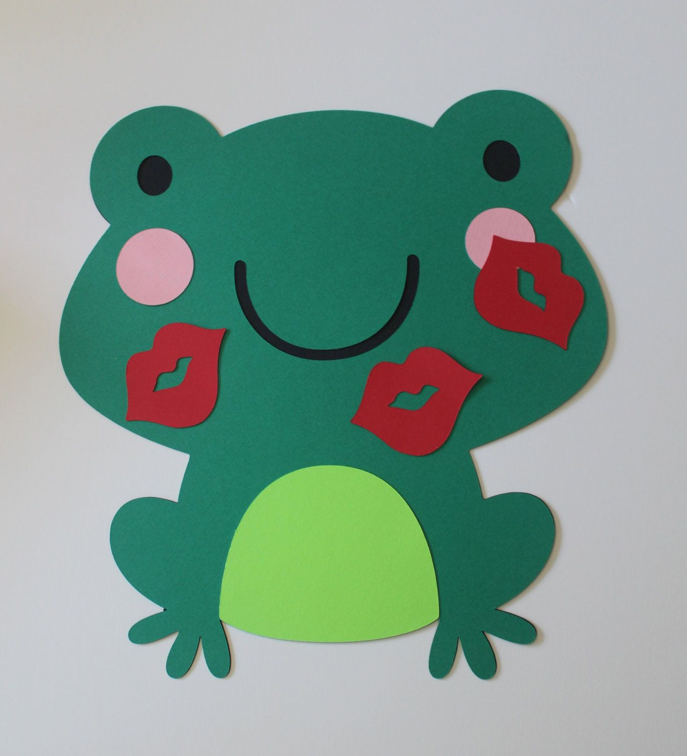 pin the kiss on the frog game 12 00 via etsy bet you could