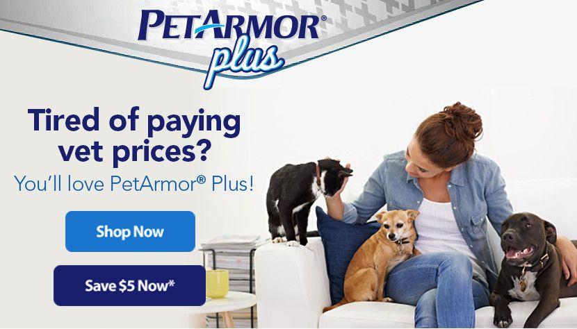 Save 5 Off Petarmor Plus At Walmart Com Pets Coupon Savings Save