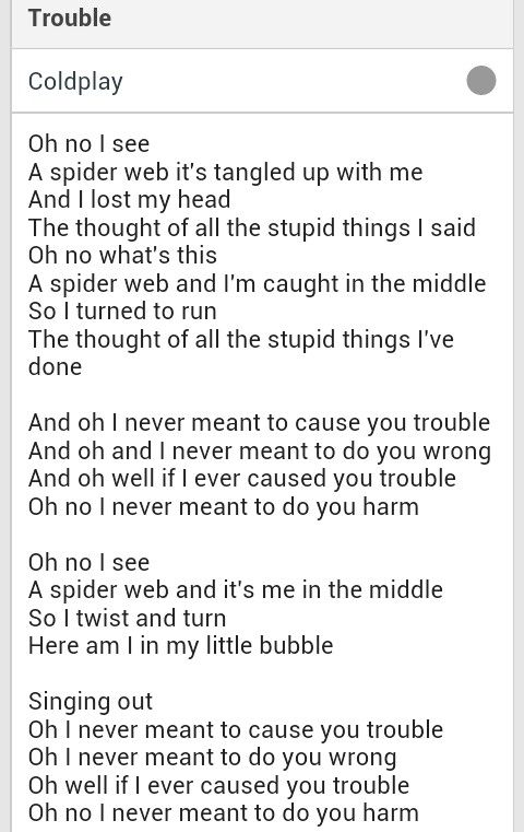 Coldplay Trouble Music 3 Pinterest Coldplay Coldplay