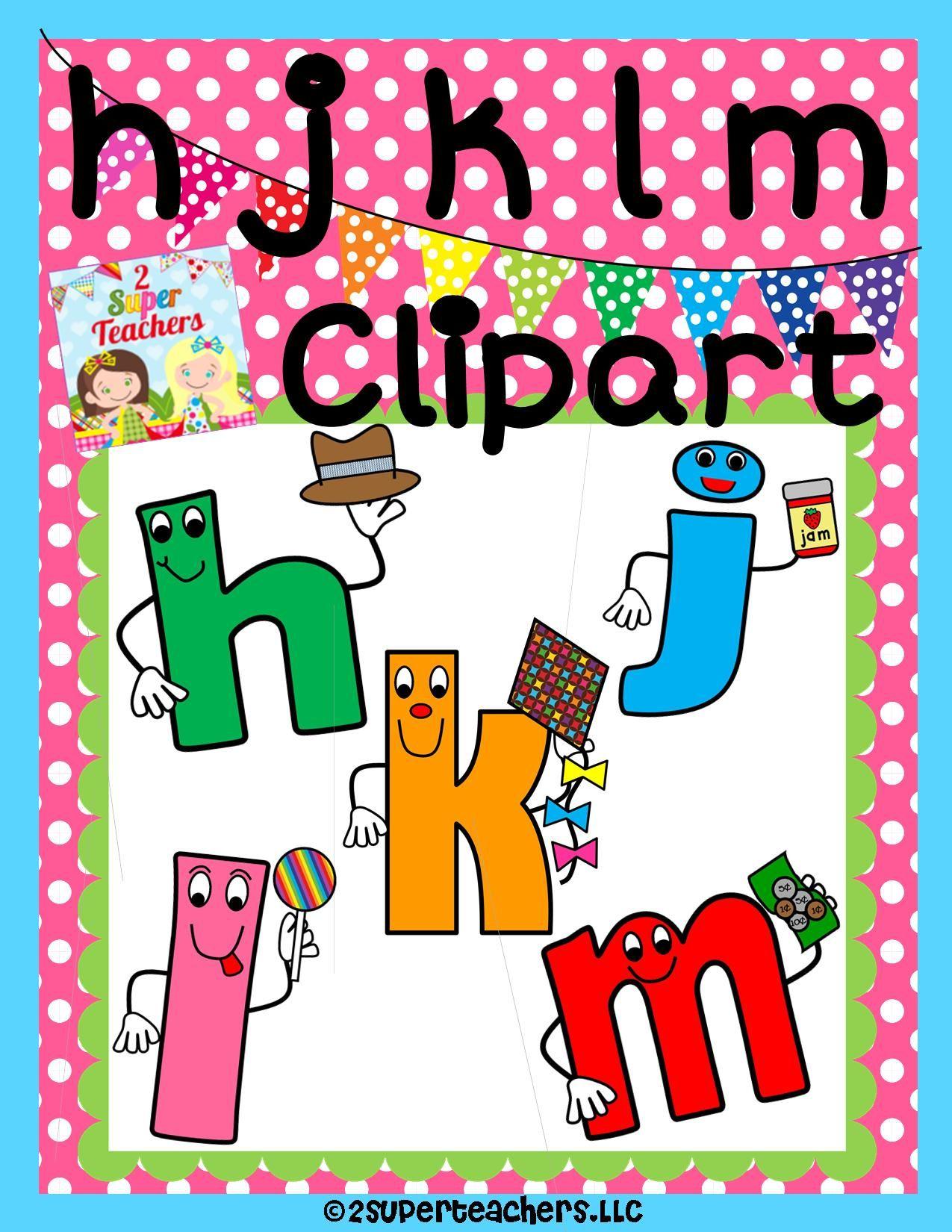 Our next Clipart Set {hjklm consonants} is ready! 2 Super Teachers ...