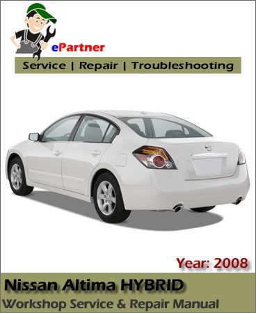 2008 nissan altima hybrid owners manual
