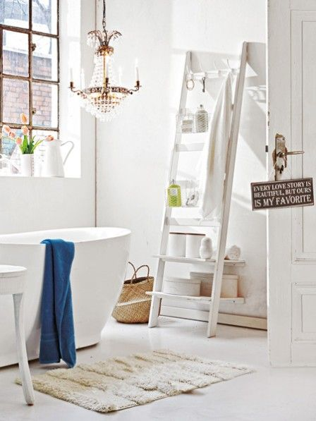 Ordnung im Badezimmer muss sein Shabby, Interiors and Bath