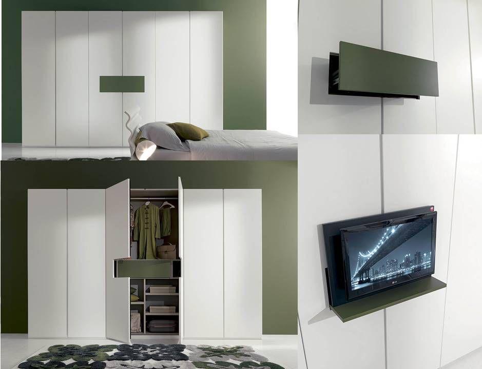 meccanismo armadio porta tv | Armadi scorrevoli e battenti | Pinterest