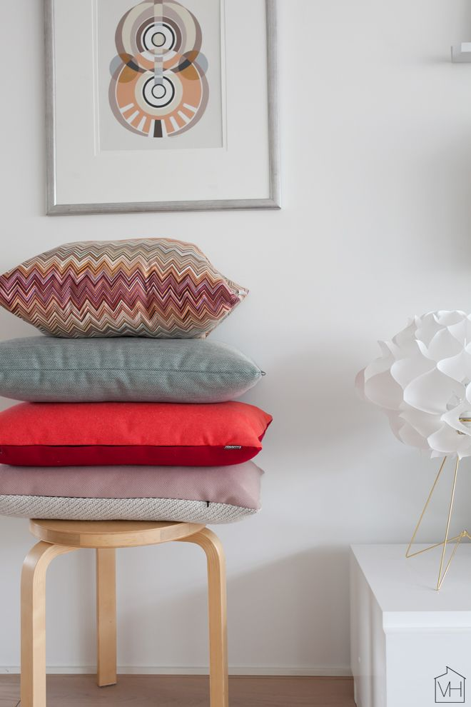 Pillows from Missoni, HAY and Muuto