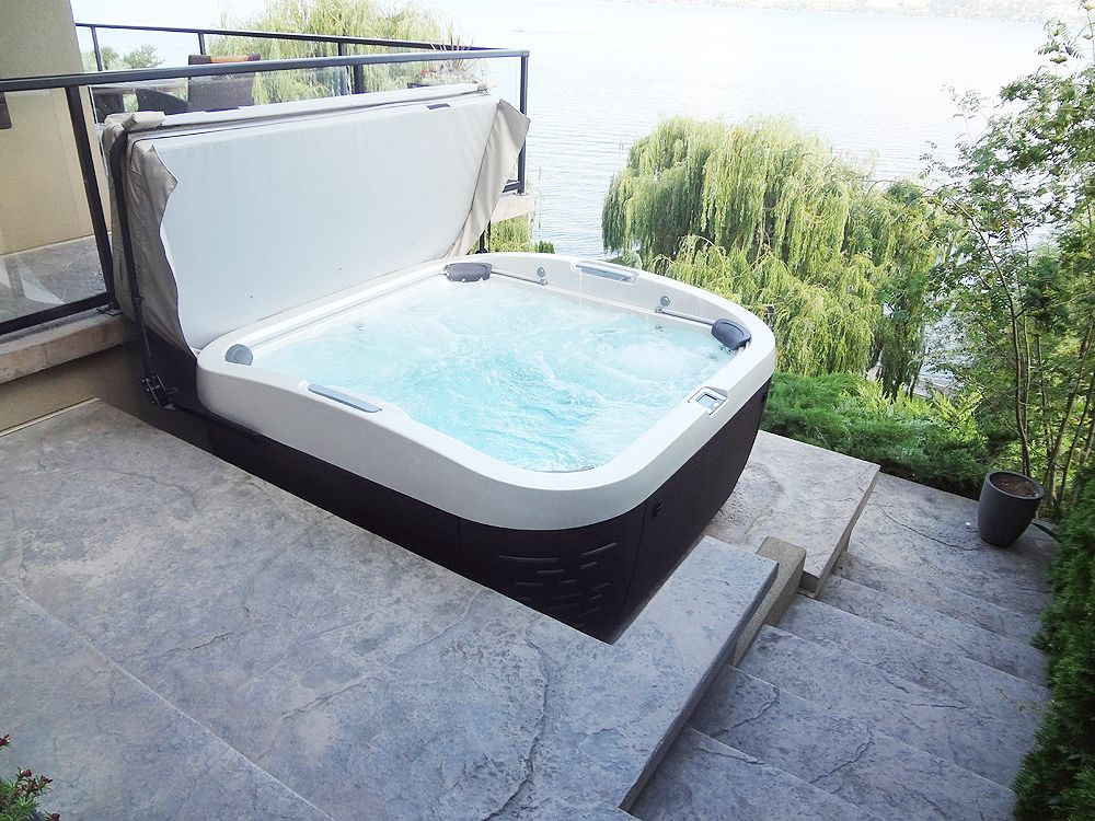 Jacuzzi® J-500 series installation. For more information, please ...