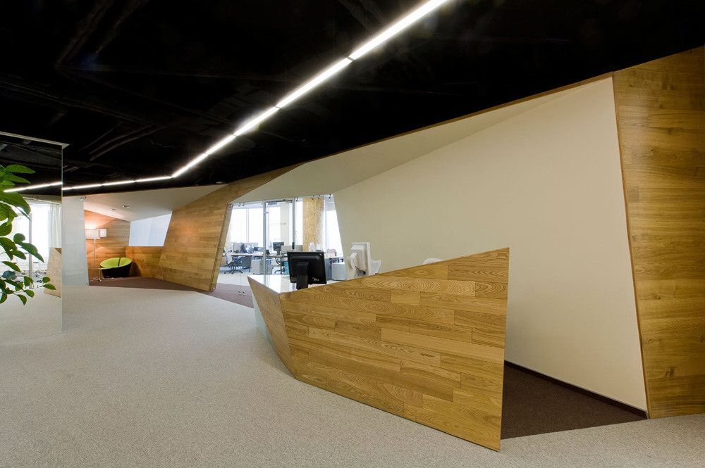 Yandex internet company office by Za Bor Architects | More ...