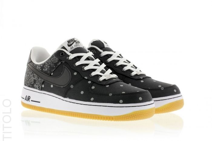 One Lv8 White Nike Air Force Metallic Titolo Blackblack Silver sQrthCBdx