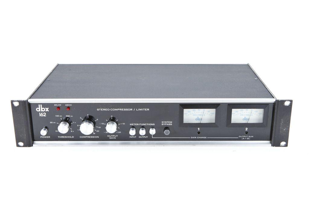 dbx162 stereo compressor recording gear studio gear professional audio recording studio. Black Bedroom Furniture Sets. Home Design Ideas